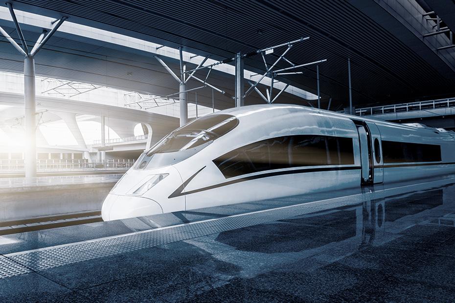 Für Schienenfahrzeuge und bahntechnische Anlagen geeignet